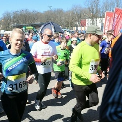88. Suurjooks ümber Viljandi järve - Janek Popell (2043), Berit Rohtjärv (3169)