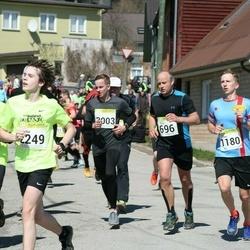 88. Suurjooks ümber Viljandi järve - Eero Rannama (696), Sten Üprus (1180), Artur Võlu (2249)