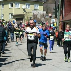 88. Suurjooks ümber Viljandi järve - Ago Kütt (2322), Karlina Skrastina (3078)