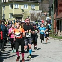 88. Suurjooks ümber Viljandi järve - Tauno Napritson (984), Kaja Sepp (2614)