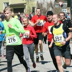 88. Suurjooks ümber Viljandi järve - Andreas Hantson (255), Arnold Laasu (257), Daniel Michael Tikva (276)