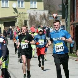 88. Suurjooks ümber Viljandi järve - Timmu Ründal (721), Aap Allmägi (2443)