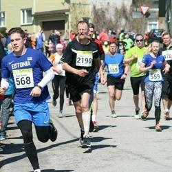 88. Suurjooks ümber Viljandi järve - Anni Niidumaa (559), Karl-Ernst Saal (568), Avo Järv (2190)