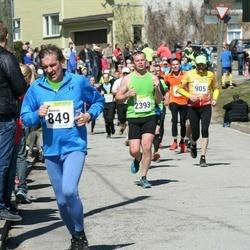88. Suurjooks ümber Viljandi järve - Andrus Möll (849), Aare Ansmitt (905), Tanel Täheste (2393)