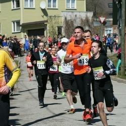88. Suurjooks ümber Viljandi järve - Andreas Lehmann (413), Aare Ansmitt (905)