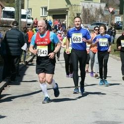 88. Suurjooks ümber Viljandi järve - Margus Uuetoa (603), Argon Raudsepp (1542), Andree Uuetoa (1995), Agno Teinveld (2418)