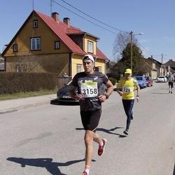 88. Suurjooks ümber Viljandi järve - Arnold Schmidt (129), Joosep Kinks (3158)