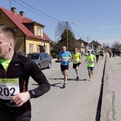88. Suurjooks ümber Viljandi järve - Ats Kask (165), Arno Bester (189), Toivo Tinast (202), Rommi Kruuse (2153)