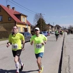 88. Suurjooks ümber Viljandi järve - Ats Kask (165), Arno Bester (189)