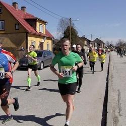 88. Suurjooks ümber Viljandi järve - Rauno Mikkor (351), Anders Eensalu (450)