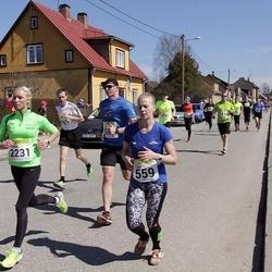 88. Suurjooks ümber Viljandi järve - Anni Niidumaa (559), Kristi Kuldkepp (2231)