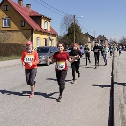 88. Suurjooks ümber Viljandi järve - Margit Kink (1140), Liis Laanesaar (2658)
