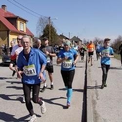 88. Suurjooks ümber Viljandi järve - Mati Merilo (1281), Ave Tepper (2330)