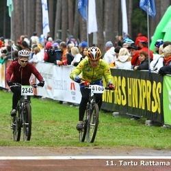 SEB 11. Tartu Rattamaraton - Agnis Vikstreins (2344), Vineta Petrelevica (2345), Paul Krela (4168)