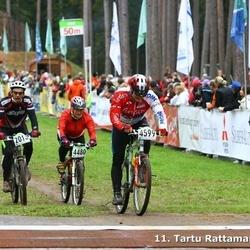 SEB 11. Tartu Rattamaraton - Aare Krämann (2013), Margit Randver (4480), Toomas Reha (4599)