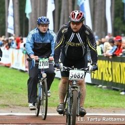 SEB 11. Tartu Rattamaraton - Andero Belov (2700), Ahti Leppik (5682), Indrek Pungar (5692)