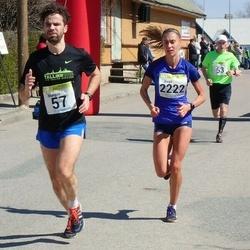 88. Suurjooks ümber Viljandi järve - Margus Maiste (57), Birgit Pihelgas (2222)