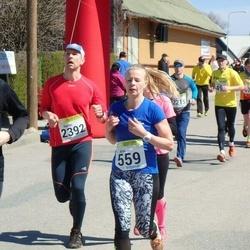 88. Suurjooks ümber Viljandi järve - Anni Niidumaa (559), Harles Paesüld (2392)