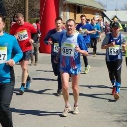88. Suurjooks ümber Viljandi järve - Kaarel Tõruvere (558), Aimi Pihel (939), Henn Sepp (987)