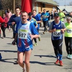 88. Suurjooks ümber Viljandi järve - Kaarel Tõruvere (558), Henn Sepp (987)