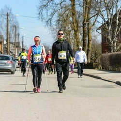 88. Suurjooks ümber Viljandi järve - Rivo Kigaste (5014), Kristi Vaher (5015)