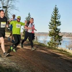 88. Suurjooks ümber Viljandi järve - Aare Jamnes (1321), Hennri Kirt (2900)