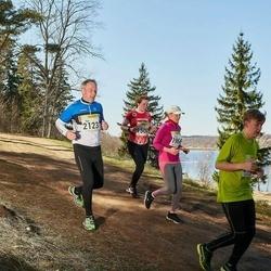 88. Suurjooks ümber Viljandi järve - Kristi Lijur (1966), Ago Sampka (2123)