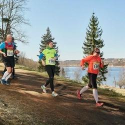 88. Suurjooks ümber Viljandi järve - Marina Rudõk (1495), Argon Raudsepp (1542), Kristel Leif (2338), Õnnela Skobiej (2346)