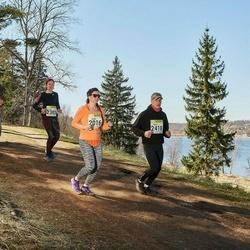 88. Suurjooks ümber Viljandi järve - Mihkel Viks (1435), Janika Hendrikson (2016), Kelly Raadik (2383), Agno Teinveld (2418)