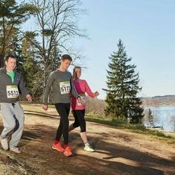 88. Suurjooks ümber Viljandi järve - Mart Weber (5172), Anni Engelbrecht (5512)