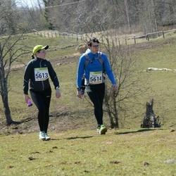 88. Suurjooks ümber Viljandi järve - Aet Kiivet (5613), Hannes Kiivet (5614)
