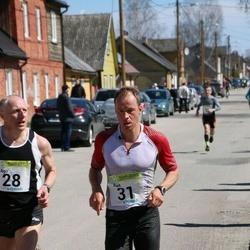 88. Suurjooks ümber Viljandi järve - Ago Veilberg (28), Rait Pallo (31)