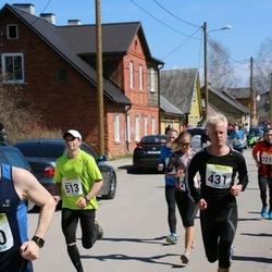88. Suurjooks ümber Viljandi järve - Ago Vahtra (431), Andrey Denisov (513)