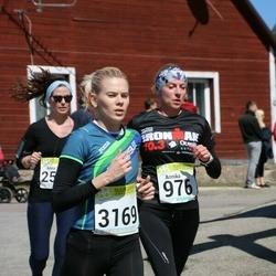 88. Suurjooks ümber Viljandi järve - Annika Veimer (976), Berit Rohtjärv (3169)