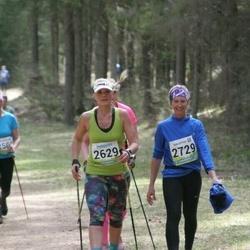 35. Tartu Jooksumaraton - Anita Peiponen (2629), Signe Räppo (2729)