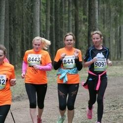 35. Tartu Jooksumaraton - Brigitta Mõttus (8443), Kadi Anajev (9097)