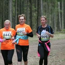 35. Tartu Jooksumaraton - Maichl Suur (8441), Brigitta Mõttus (8443), Kadi Anajev (9097)