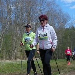 35. Tartu Jooksumaraton - Eve Jõesaar (9365), Anita Mets (9494)