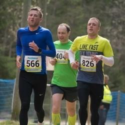 35. Tartu Jooksumaraton - Mait Laidvee (566), Andre Nael (826), Toomas Türn (913)