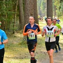 35. Tartu Jooksumaraton - Ago Saluveer (727), Margus Randmäe (781)