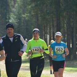 35. Tartu Jooksumaraton - Eve Jaeski (562), Annika Virolainen (1423)