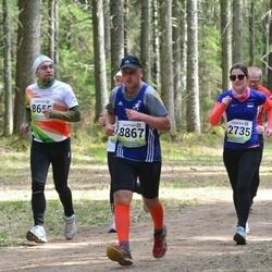 35. Tartu Jooksumaraton - Viivika Valner (2735), Kaarel Tõruvere (8867)