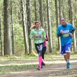 35. Tartu Jooksumaraton - Janno Reinberg (8669), Annika Sokk (9026)