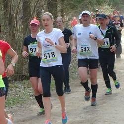 35. Tartu Jooksumaraton - Agne Väljaots (518), Tauno Ojasaar (542)