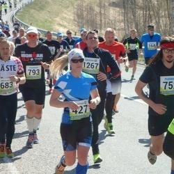 35. Tartu Jooksumaraton - Anni Niidumaa (427), Rene Abel (683)