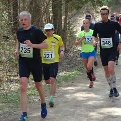 35. Tartu Jooksumaraton - Andre Abner (221), Meelis Merenäkk (235), Toomas Gross (348)