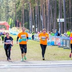 35. Tartu Jooksumaraton - Maichl Suur (8441), Reet Uibo (8442), Brigitta Mõttus (8443), Helbe Kivirand (8863)