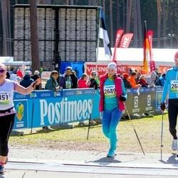 35. Tartu Jooksumaraton - Aarne Tiit (2688), Margit Tiit (2689)