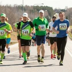 35. Tartu Jooksumaraton - Kalle Lellep (148), Björn Puna (161), Ain Uustare (393)