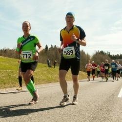 35. Tartu Jooksumaraton - Arnis Sulmeisters (589), Maigi Vaikla (712)